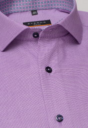 ETERNA LONG SLEEVE SHIRT SLIM FIT ORCHID STRUCTURED
