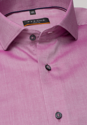 ETERNA LONG SLEEVE SHIRT SLIM FIT OXFORD ORCHID UNI