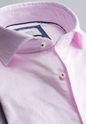 ETERNA LONG SLEEVE SHIRT MODERN FIT SOFT TAILORING TWILL PINK UNI