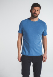 ETERNA T-SHIRT UPCYCLED MATERIALS LIGHT BLUE UNI