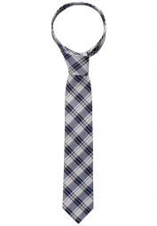 ETERNA TIE GREY CHECKED