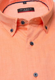 ETERNA HALF SLEEVE SHIRT MODERN FIT OXFORD APRICOT UNI